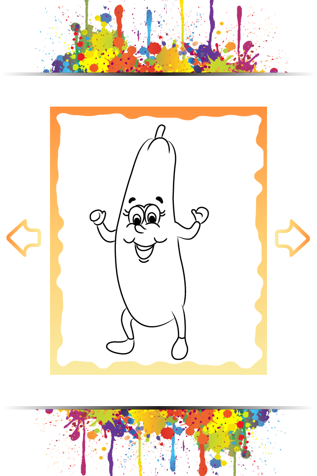 Screenshot Veggie Village Coloring Book