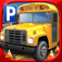 3D School Bus Parking Simulator Game - Real Driving Test Race Sim Games Free